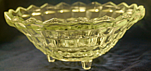 Fostoria American Footed Bowl