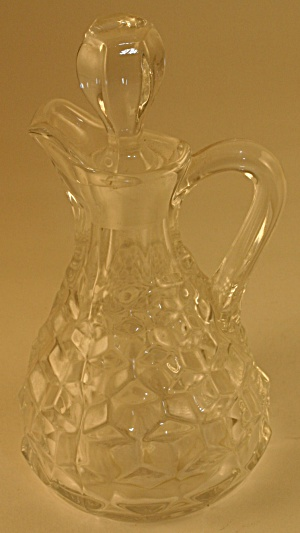 Fostoria American Cruet With Stopper