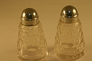 Fostoria American Salt And Pepper Set
