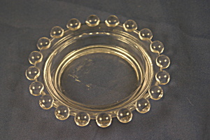 Imperial Glass Clear Candlewick Ash Tray. (Image1)