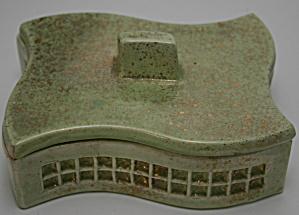 Mid-Century Modern Cigarette Box (Image1)