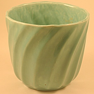 Turquoise Flower Pot