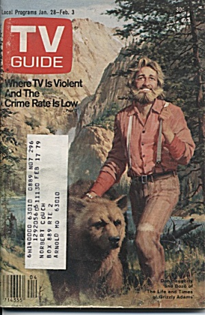 TV Guide, Jan. 28, 1978 (Image1)