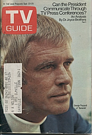 Tv Guide, Sept. 23, 1972