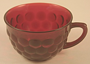 Anchor-Hocking Royal Ruby Bubble Cup (Image1)