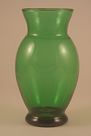 Small Forest Green Vase (Image1)