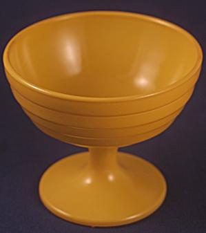 Yellow (Butterscotch?) Moderntone Platonite Sherbet (Image1)