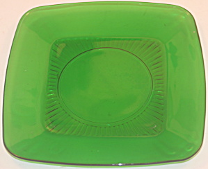Anchor Hocking Forest Green Lunch Plate (Charm)
