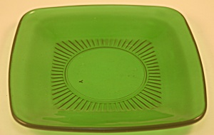 Anchor Hocking Forest Green Charm Salad Plate