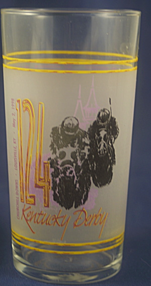 124th 1998 Kentucky Derby Tumbler (Image1)