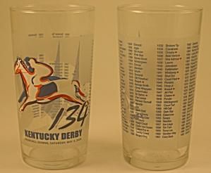 134th 2008 Kentucky Derby Tumbler (Image1)