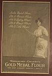 Click here to enlarge image and see more about item AD103: Gold Medal Flour Ad