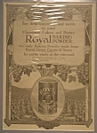 Click here to enlarge image and see more about item AD105: Royal Baking Powder Ad