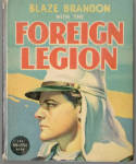 Click here to enlarge image and see more about item BLB604: Blaze Brandon with the Foreign Legion