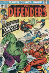Click here to enlarge image and see more about item CB001: The Defenders, Issue 13, May 1974