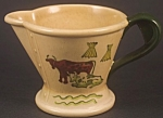 Click here to enlarge image and see more about item CD100: Metlox Poppytrail Homestead Provincial Creamer