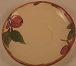 Click here to enlarge image and see more about item CD108: Franciscan Apple Saucer