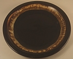 Click here to enlarge image and see more about item CD119: Pfaltzgraff Pottery Brown Gourmet Dinner Plate
