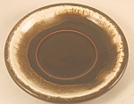 Click here to enlarge image and see more about item CD121: Pfaltzgraff Pottery Brown Gourmet Saucer
