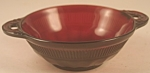 Click here to enlarge image and see more about item DG103: Anchor Hocking Royal Ruby Coronation Berry Bowl