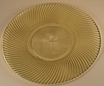Click here to enlarge image and see more about item DG111: Federal Glass Diana Sandwich Plate