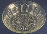 Click here to enlarge image and see more about item DG124: Anchor Hocking Clear Colonial Bowl
