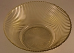 Click here to enlarge image and see more about item DG127: Federal Glass Diana Salad Bowl