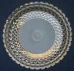 Clear Anchor Hocking Waterford Sandwich Plate