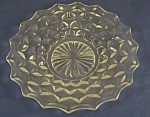 Click here to enlarge image and see more about item G106: Fostoria American Salad Plate