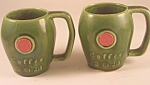 Click here to enlarge image and see more about item P107A: Unmarked McCoy D.O.M. Mug