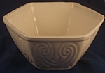 Click here to enlarge image and see more about item P111: Ungemach Pottery Six-Sided Bowl