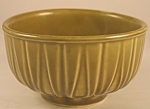 Click here to enlarge image and see more about item P112: USA Green Bowl