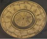 Click here to enlarge image and see more about item PDG456: Federal Glass Heritage Sandwich Plate