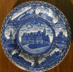 Click here to enlarge image and see more about item VS112: Rowland & Marsellus 1909 St. Louis Centennial Plate