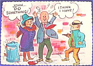 Post Card ~ Humor ~ 1970 (Image1)