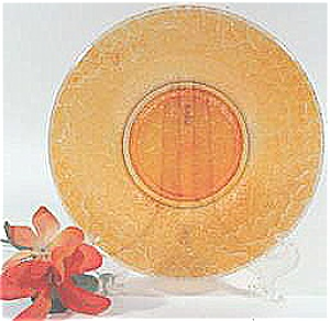 Imperial Marigold Carnival 6in. Plate - 1930's (Image1)
