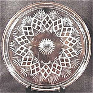 Westmoreland Cake Plate Tray - Fan With Split Diamond