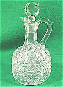 Early American Pattern Glass Cruet