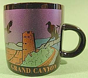 Porcelain Miniature Souvenir Mug - Grand Canyon (Image1)