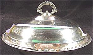 Silverplate - Covered Casserole Dish