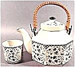 Blue on White 5 Pc. Teaset - Japan (Image1)