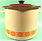 Graniteware Stock Pot with Lid - Great Shape (Image1)