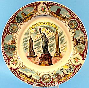 Collector Plate ~ New York City (Image1)