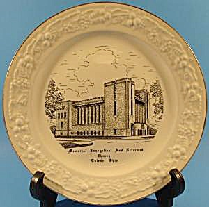 Evangelical Church Toledo Ohio Collector Plate