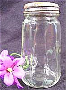 Kitchen Collectibles - Early Clear Glass Shaker - 4 Inch