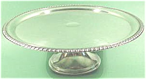 Silverplate Pedestal Cake Server - Rogers