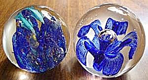 Great Pair Of Paperweights - Paper Weights + Bonus