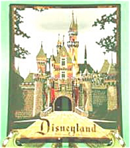 Disneyland Castle Glass Astray (Image1)