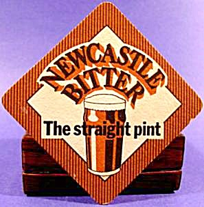 Beer Tavern Coaster Mat - Newcastle - Vintage (Image1)
