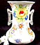 Porcelain Handpainted Oriental Vase - Japan